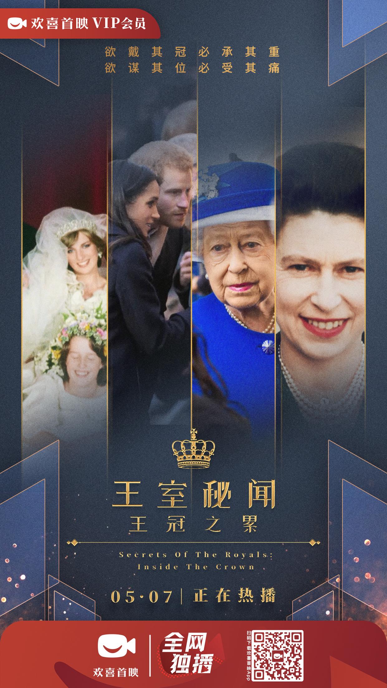 揭秘英国王室珍贵史料,纪录片《王室》系列上线欢喜首映APP独家热播